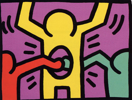 1 Pop Shop I by Keith Haring