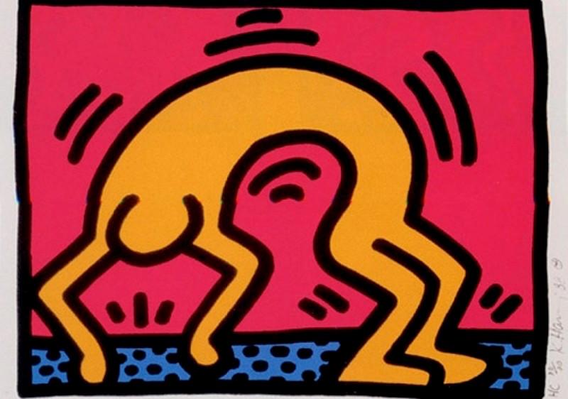 2 Pop Shop II by Keith Haring