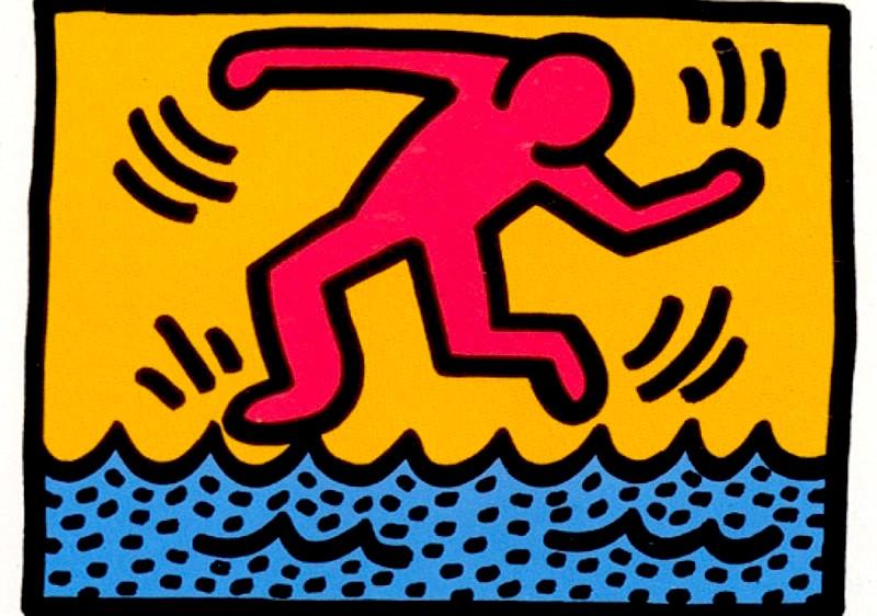 4 Pop Shop II by Keith Haring