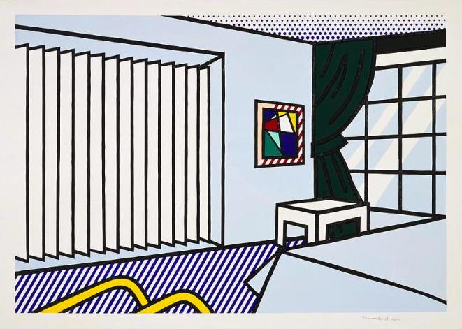 Bedroomby Roy Lichtenstein