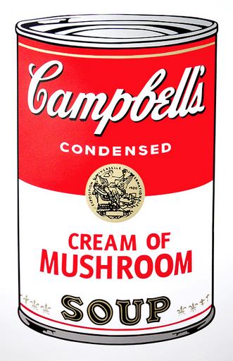 Cream of Mushroom Soup by Andy Warhol