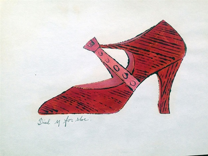 Dial Y for Shoe by Andy Warhol