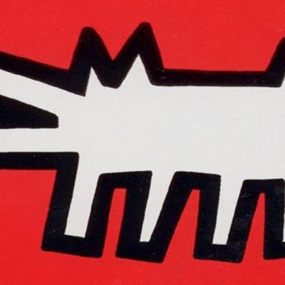 Barking Dog by Keith Haring