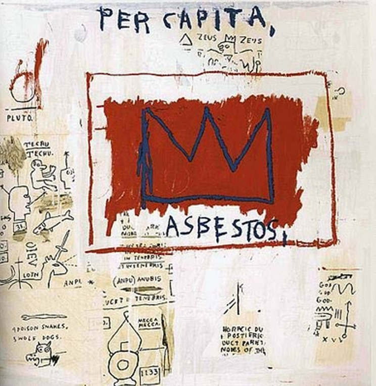 Per Capita Estate Print by Basquiat