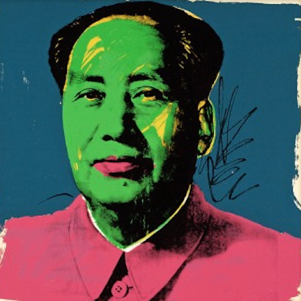 Mao 93 by Andy Warhol