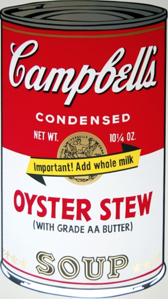 Oyster Stew by Andy Warhol