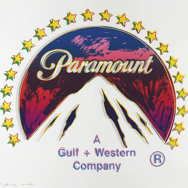 Paramount Ad 352 by Andy Warhol