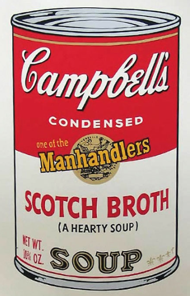 Scotch Broth Soup by Andy Warhol