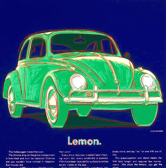 Volkswagon by Andy Warhol