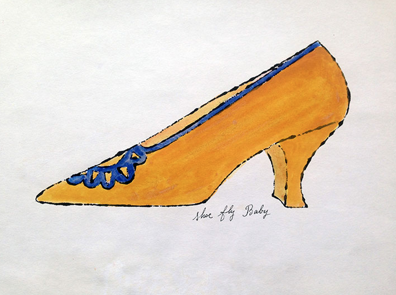 Shoe Fly Baby – Shoe Portfolio by Andy Warhol