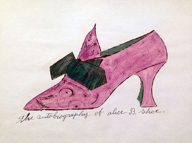 andy warhol A la recherche du shoe perdu, Andy Warhol A La Recherche Du Shoe Perdu