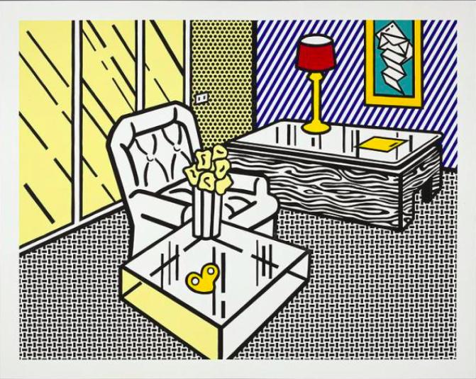 The Den by Roy Lichtenstein