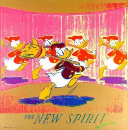 Ad Portfolio Donald Duck by Andy Warhol