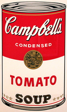 Tomato by Andy Warhol