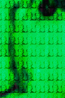 You and Me+ Warhol (Green) Detail