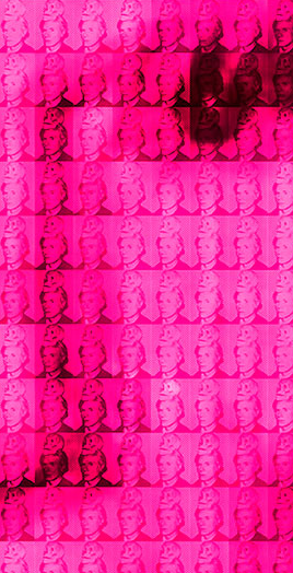 You and Me+ Warhol (Pink) Detail