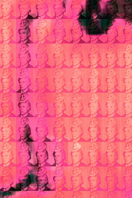 You and Me+ Warhol (Red) Detail