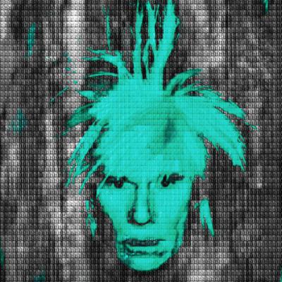 Tiffany Green Andy Warhol by Alex Cao