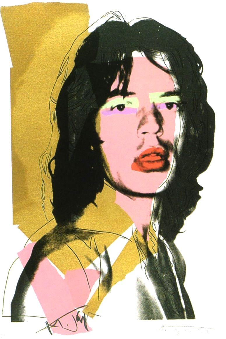 Andy Warhol Mick Jagger 143