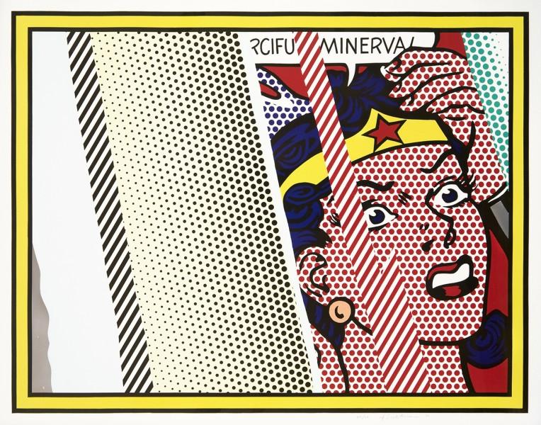 Reflections on the Minerva by Roy Lichtenstein