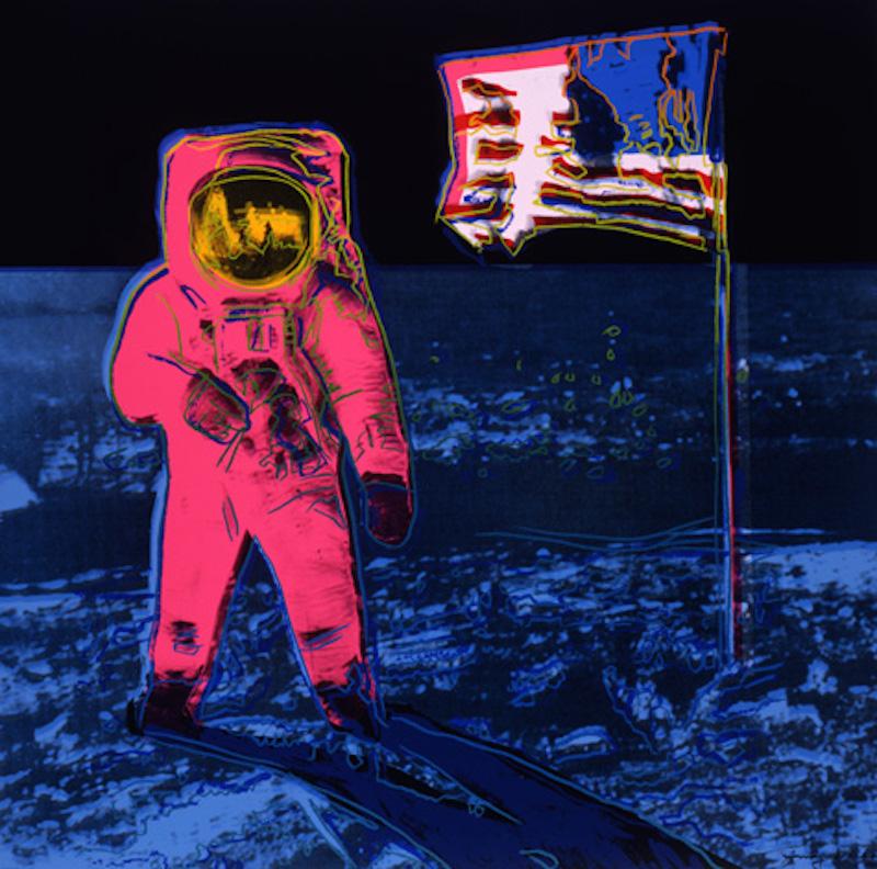 Moonwalk 405 (Pink) by Andy Warhol