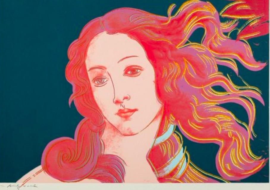 Andy Warhol Birth of Venus 316