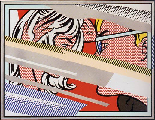 Reflection on Conversation by Lichtenstein