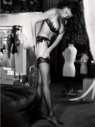 Adriana 3 (Backstage) by Russell James