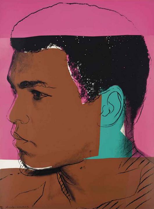 179 Muhammad Ali by Andy Warhol