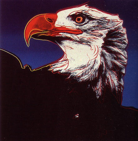 Bald Eagle by Andy Warhol