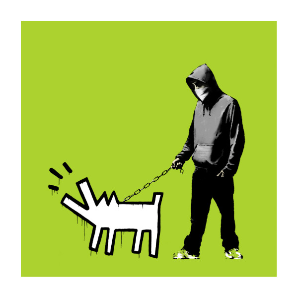 Choose Your Weapon by Banksy (Green)