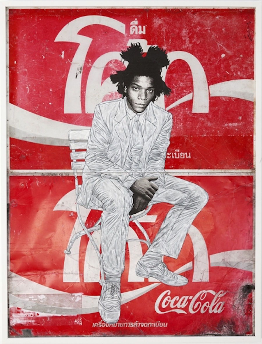 Basquiat sits on Coke by Pakpoom Silaphan