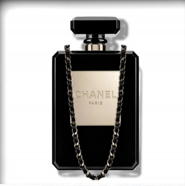 Chanel (Black On Clear) – Ultravelvet Collection
