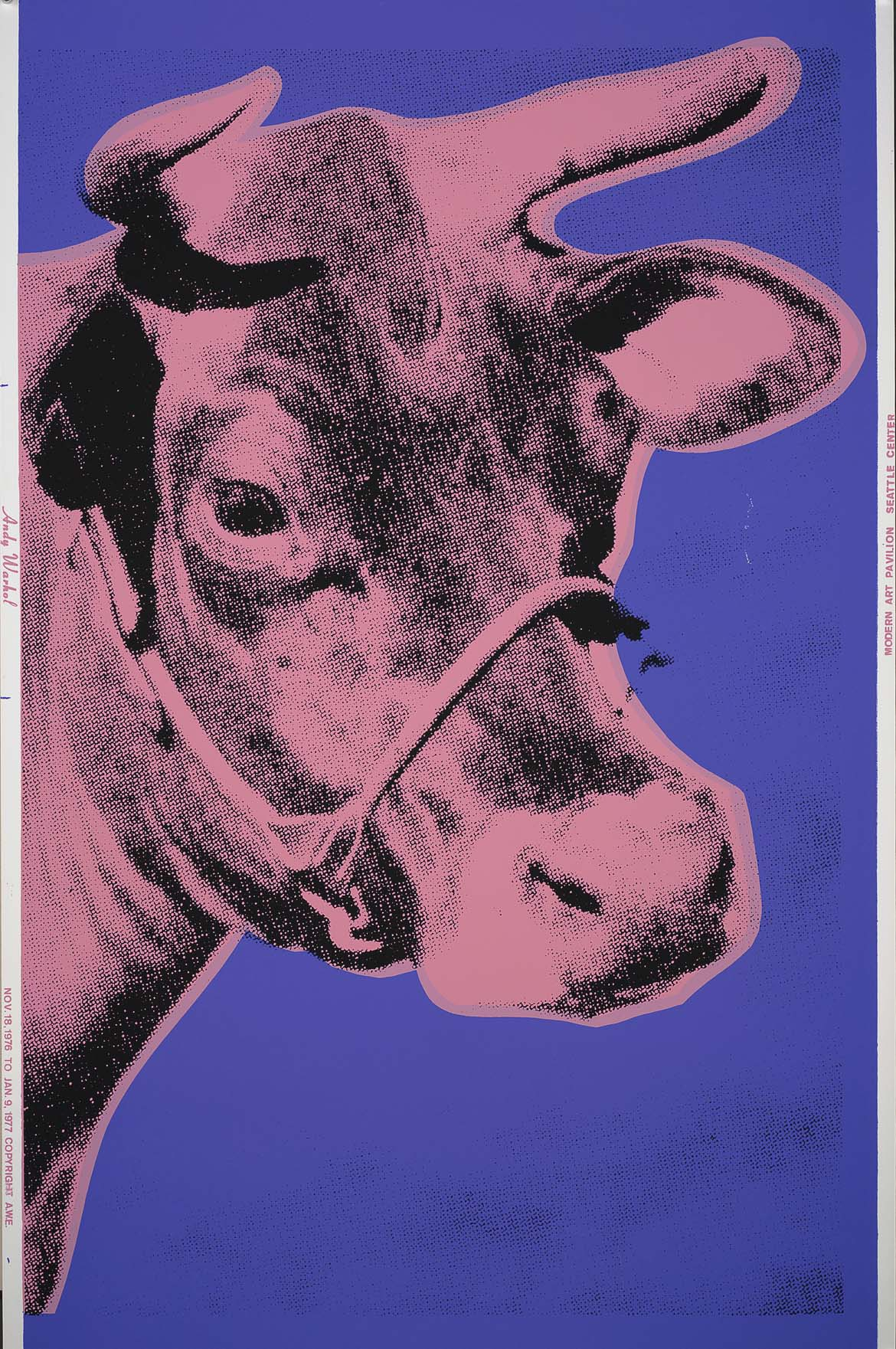 Cow 12A By Andy Warhol