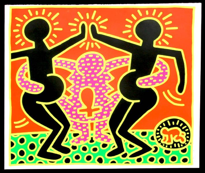 Keith Haring Fertility 4