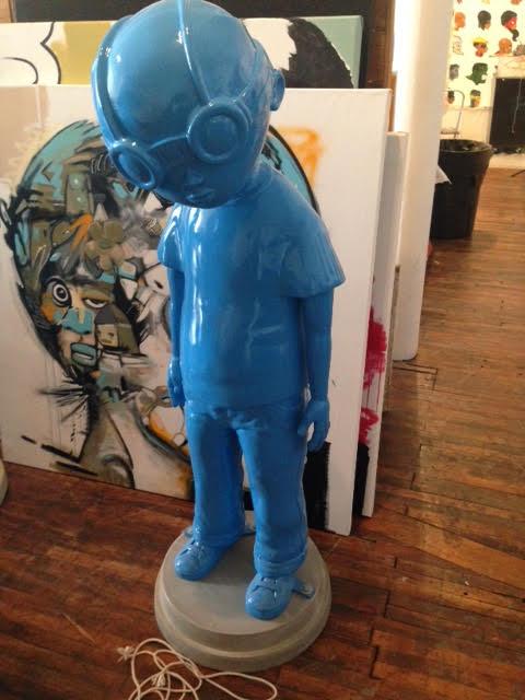 Fly Boy (Blue) by Hebru Brantley