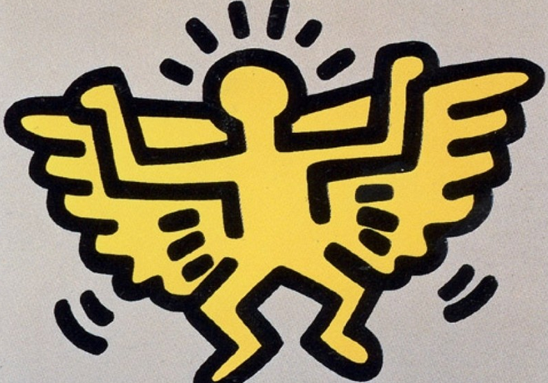 Angel by Keith Haring from Icons