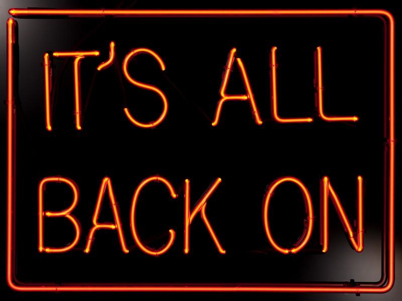 It's All Back On (Orange)