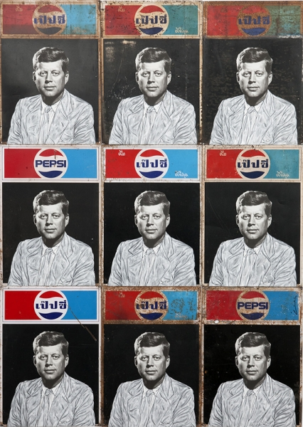 JFK on Pepsi