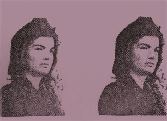 Jackie Kennedy II by Andy Warhol