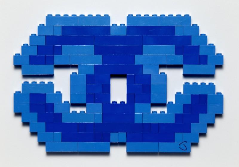 Luxury Lego Dark Blue by Jason Alper