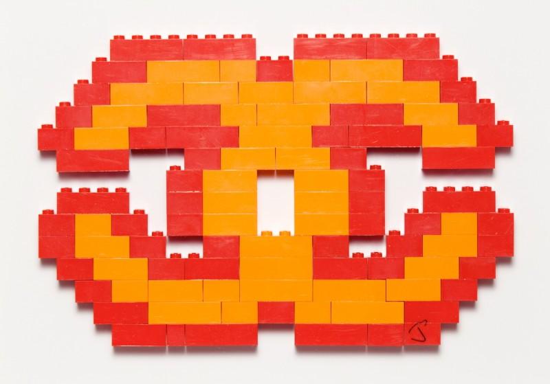 Luxury Lego Orange and Red by Jason Alper