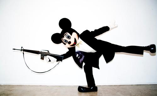 Mickey Gun by Tyler Shields