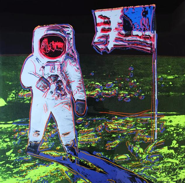 Moonwalk Trial Proof by Andy Warhol
