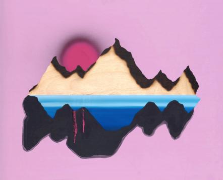 Mountain (Blowtorch) by Ryan McCann