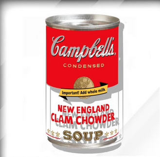 Clam Chowder by Ultravelvet Collection