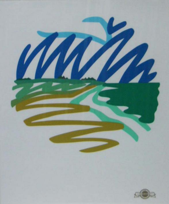 Seascape Tondo