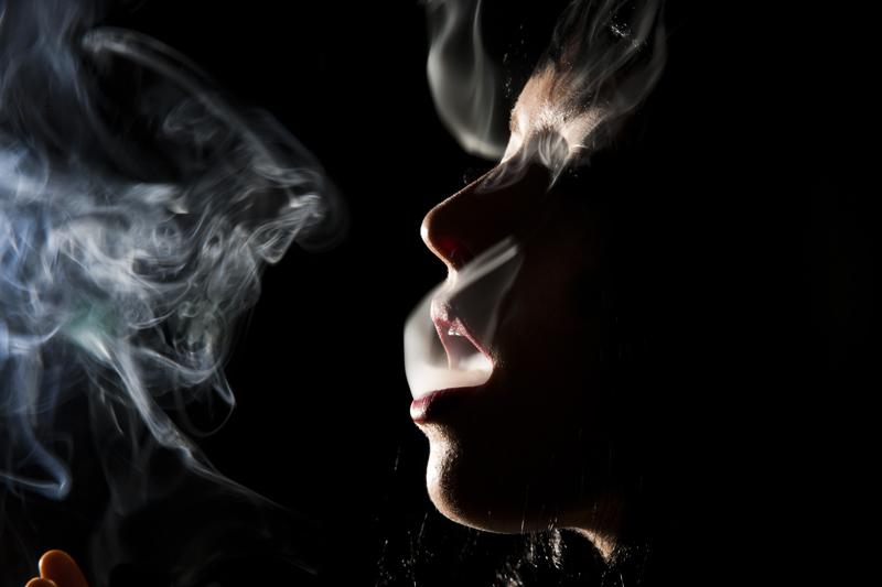Smoke by Tyler Shields
