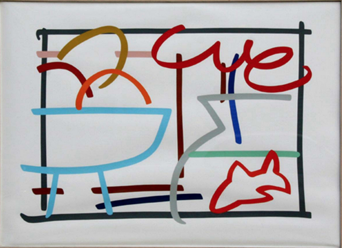 Still life with Goldfish by Tom Wesselmann