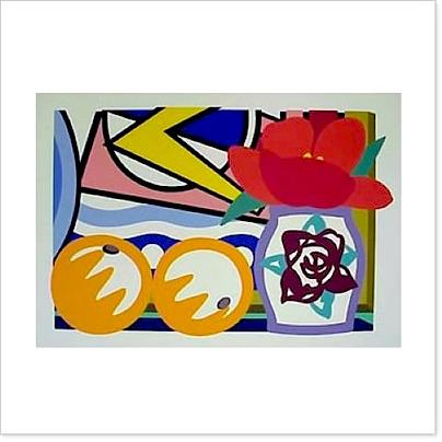 Still Life with Oranges by Tom Wesselmann